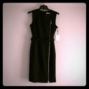 NWT Calvin Klein Size 6 LBD Black Sheath Dress
